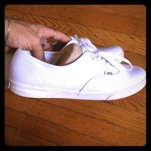 White Vans Shoes! (Damn Daniel)